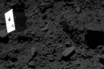 Landung auf Asteroiden: Hüpfmobil im Wunderland