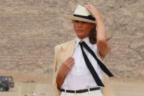 Auf Afrika-Reise: Melania Trump erntet Kritik für ihre Garderobe