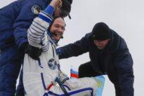 Astro-Alex auf der Erde: Er ist wieder da