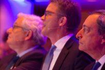 Finanzkonferenz in Frankfurt: Draghi und Sewing fordern mehr Bankenunion