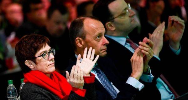 Vor CDU-Parteitag in Hamburg: Groko-Parteien bleiben im Meinungstief