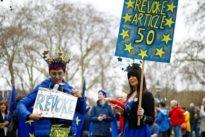 EU-Austritt: Mehr als vier Millionen Briten unterstützen Petition gegen Brexit