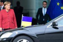 """Merkel zu Selenskyjs Sieg: """"Die Bundesregierung wird der Ukraine zur Seite stehen"""""""