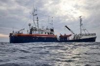 """Sturm bedroht """"Alan Kurdi"""": Deutsche Seenotretter fordern schnelle Lösung für Migrantenschiff"""