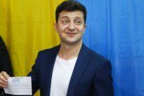 Wahl in der Ukraine: Bußgeld für Präsidentenkandidat Selenskyj