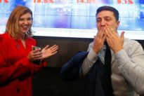 Nach erstem Wahlgang: Komiker Selenskyj führt bei Präsidentenwahl in Ukraine
