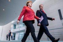 Merkel trifft Poroschenko: Ständiger Austausch