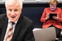 Merkel und Seehofer: Luft zum Atmen