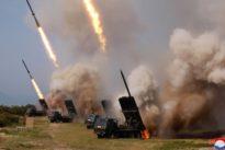 Kim provoziert wieder: Nordkorea testet neue Raketenwerfer