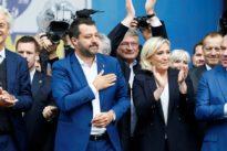 Europäische Rechtspopulisten: Oberwasser auf dem Mailänder Domplatz