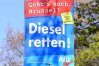 Polizei stellt Beschuldigten: Bremer AfD-Politikerin beim Plakatieren attackiert