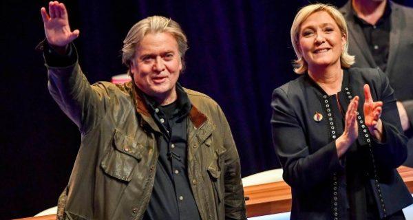 Rassemblement National: Paktierte die Le-Pen-Partei mit Steve Bannon?