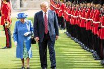 Trump bei der Queen: Speziell rumpelnde Beziehungen