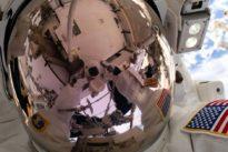Arbeit an der ISS: Klempner im All