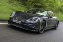 Probefahrt Porsche Taycan: Elektroschock