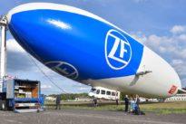 Unterwegs im Zeppelin: Die Ruhe ohne Sturm