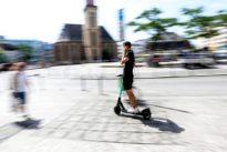 E-Roller in Frankfurt: Aufgeladen und angerollt
