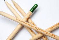 Nachhaltiges Schreibgerät: Ein Stift, der eine Pflanze werden kann