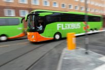 Streit um Luftgüte: Dicke Luft am Frankfurter Fernbusbahnhof