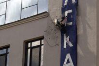 Ukraine-Konflikt: Fernsehsender in Kiew mit Granatwerfer beschossen