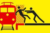 Sicherheit an Bahnhöfen: Vor den Zug gestoßen