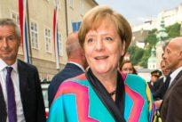 Mode auf dem roten Teppich: Merkels Seiden-Kimono als Statement gegen Fast Fashion