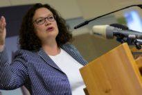 Frühere SPD-Vorsitzende: Nahles legt Bundestagsmandat nieder