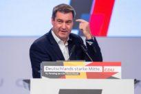 Söder auf dem CDU-Parteitag: Der lässige Onkel