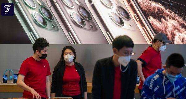Aus Angst vor Coronavirus: Apple sperrt China-Filialen zu