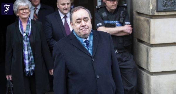 Missbrauchsvorwürfe: Schottlands früherer Regierungschef freigesprochen