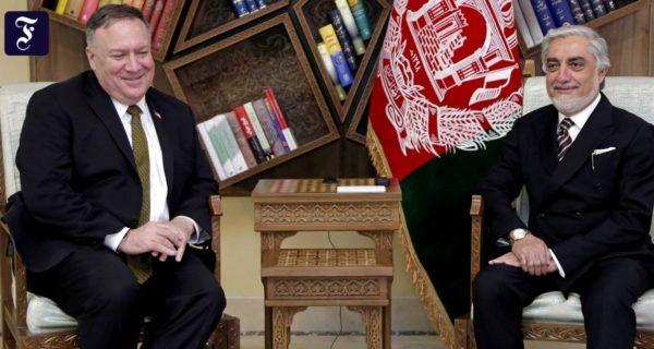 Wegen ungelöstem Machtkampf: Amerika streicht Afghanistan eine Milliarde Dollar