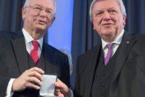 CDU-Parteivorsitz: Bouffier und Koch sind sich uneins
