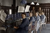 Frankfurter Zeitung 20.04.1930: Telefonieren über 23.000 Kilometer