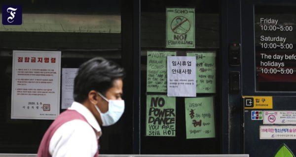 Infektionsherd in den Bars: Südkoreaner fürchten zweite Welle
